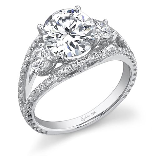 Sylvie Collection | Designer Engagement Rings and Wedding Bands | Diamonds Direct | Charlotte, Birmingham, and Raleigh