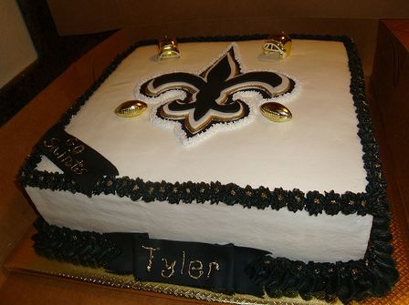 New Orleans Saints Cakes Birthday Cake