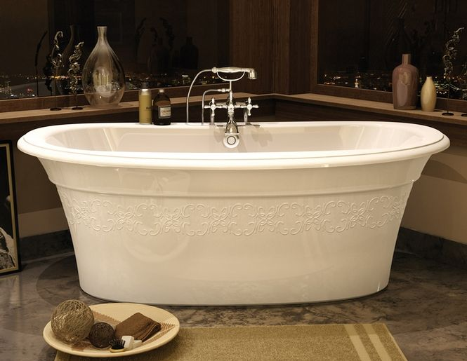 Maax Freestanding Tub Ella Style With Engraving Call Building