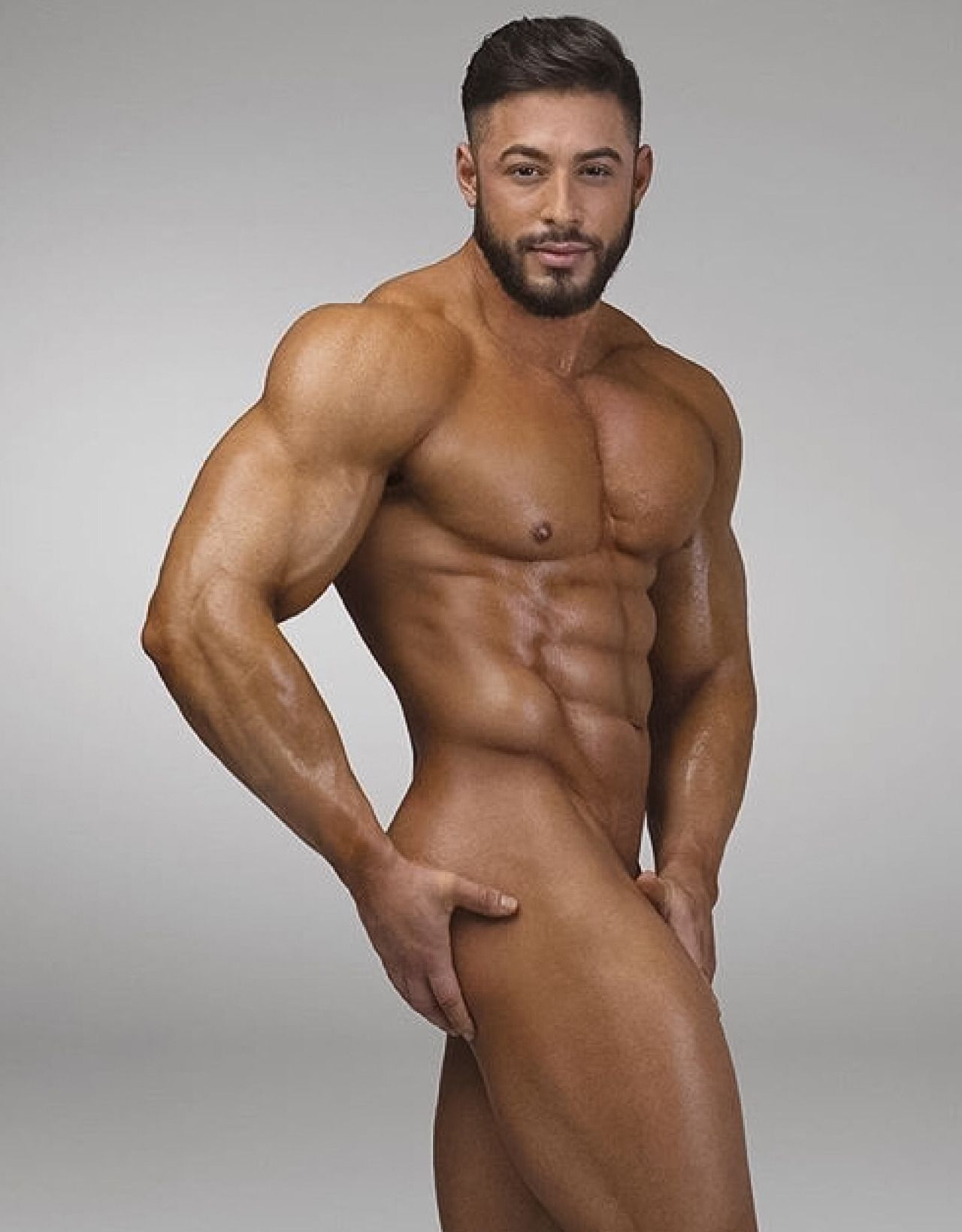 Thick Thighs Naked Muscle Man