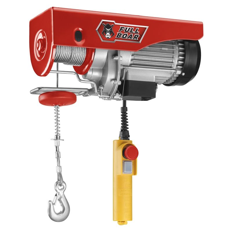 Find Full Boar 475kg Electric Hoist at Bunnings Warehouse ... Harbor Freight Electric Hoist Wiring Diagram Lbs on