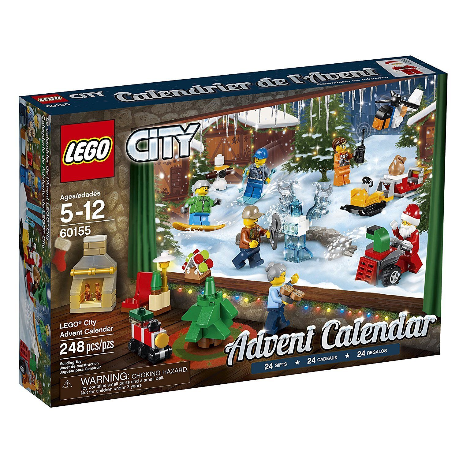 Lego 60155 City Advent Calendar Blocks And Bricks With Images