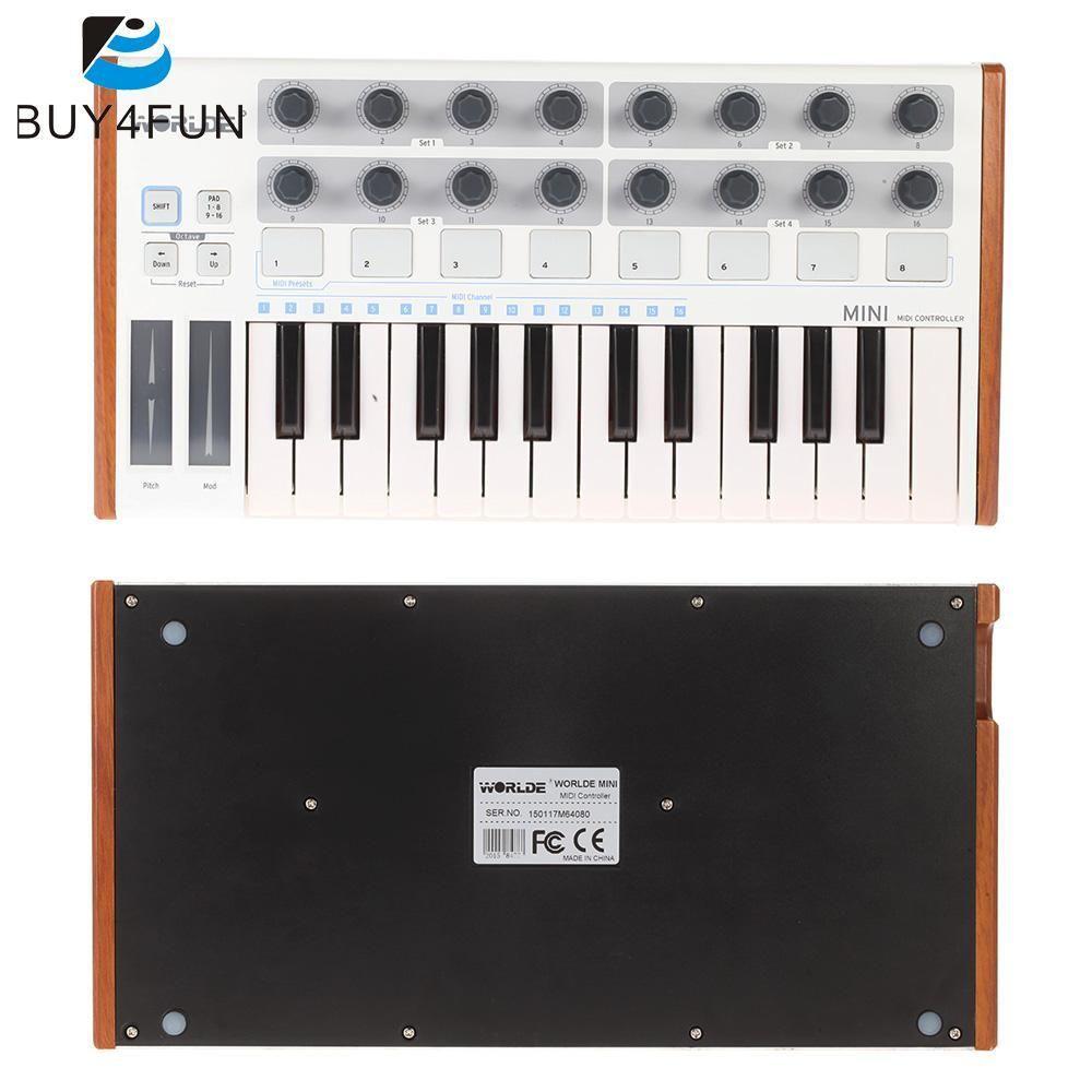 Clavier Et Contrleurs Midi Avec Pads Usb Contrleur Mixers Keyboard Votre