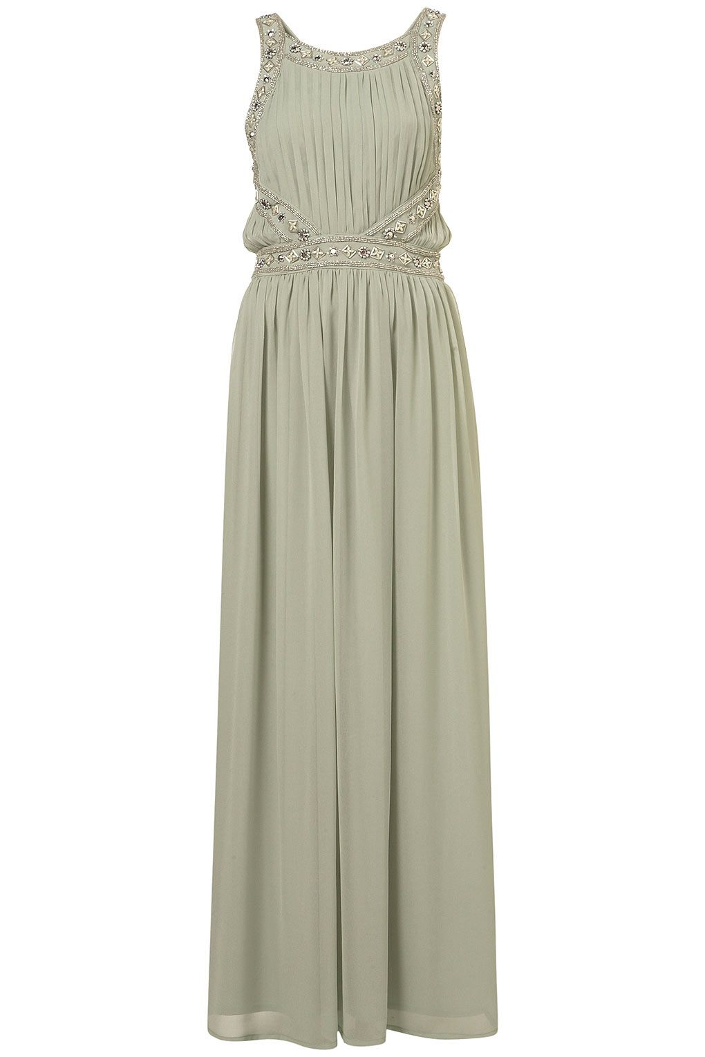59ecf13a25d8 Embellished Mint Maxi Dress from Topshop....so perfect, could dress it up  with some black suede strappy heels or dress it down with some braided  white ...