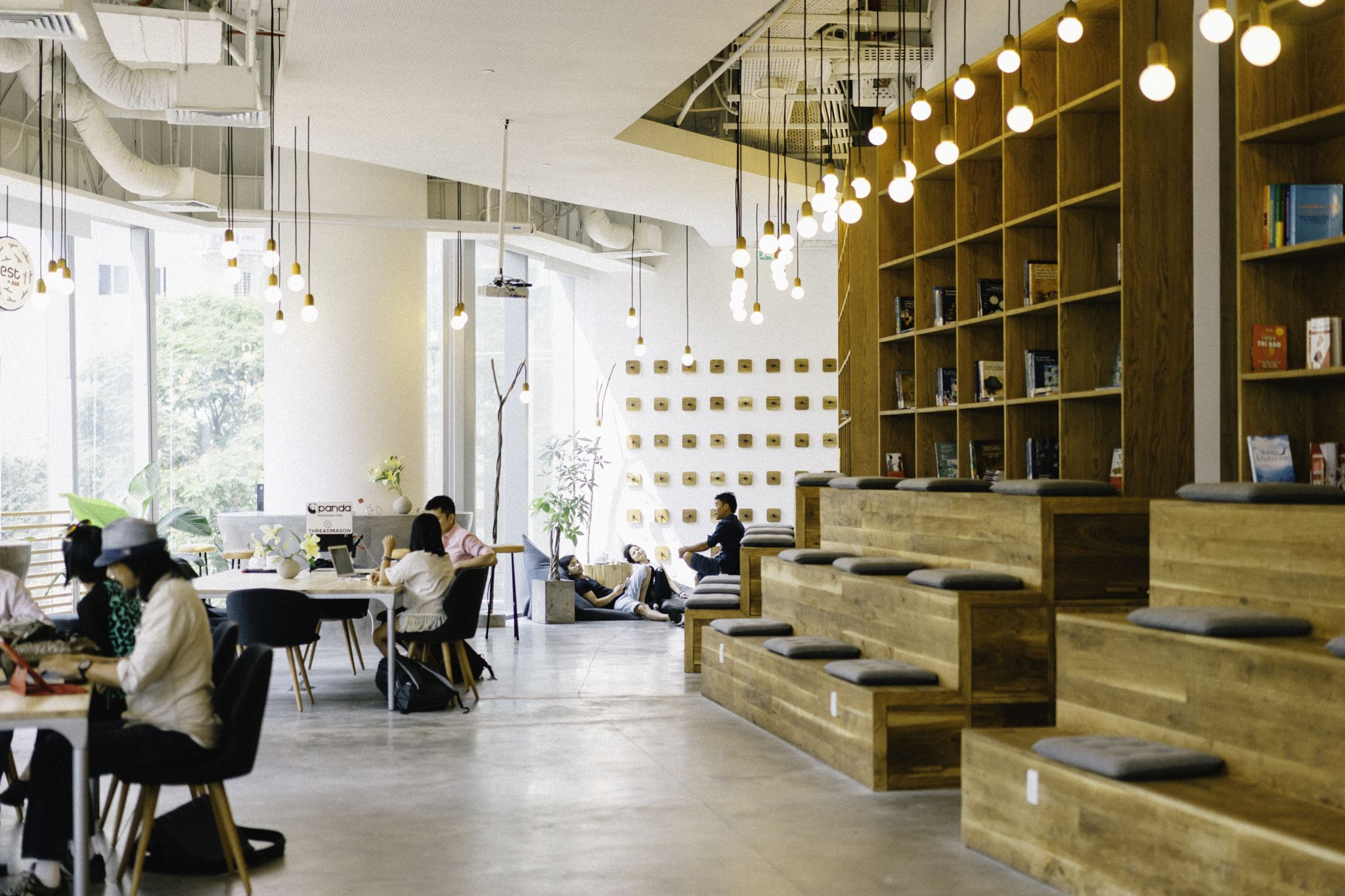 Shot from a new WORK cafe opened in Ho Chi Minh City, Vietnam. It\'s ...