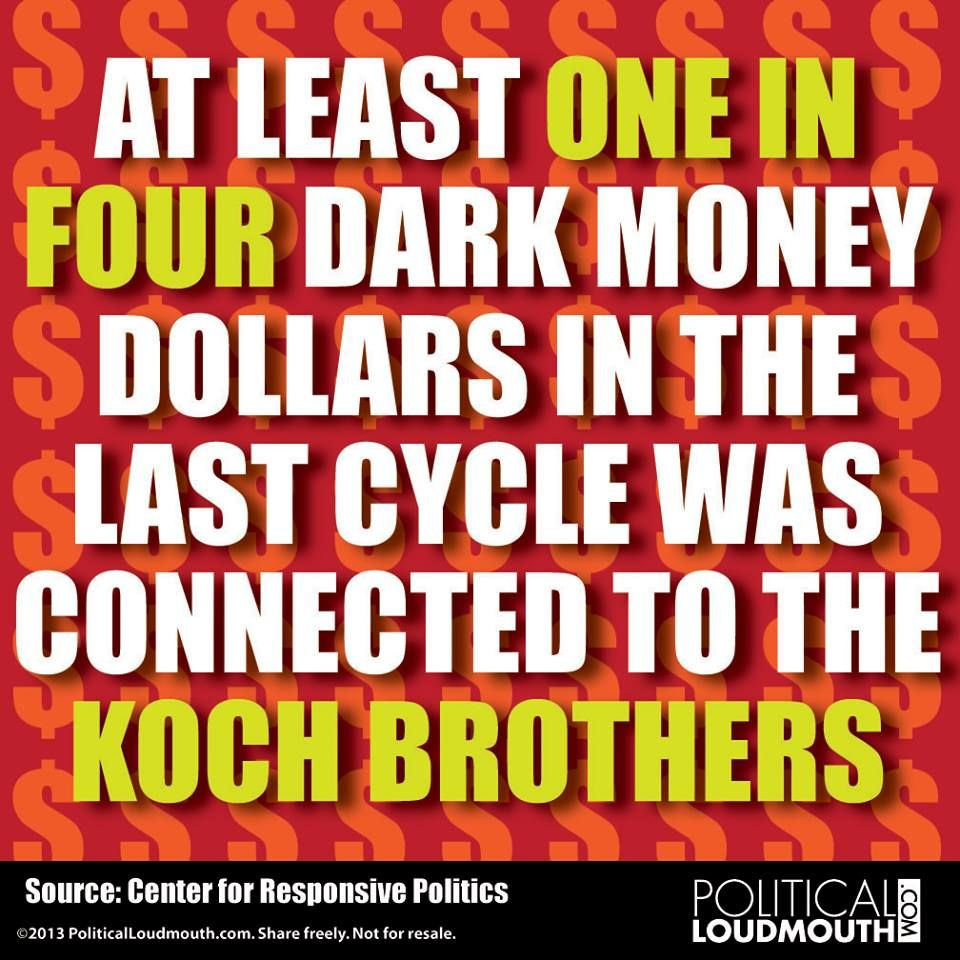 Image result for dark money in politics
