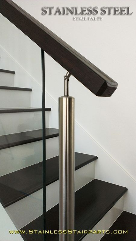 stainless steel stair parts modern glass rods cable railing