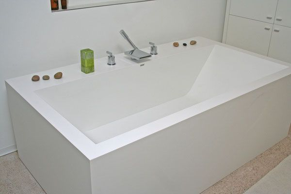 Baignoire Sur Mesure Blanc S 28 Baignoire Salle De Bain Bains