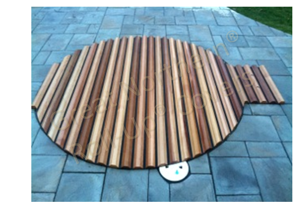 Western Red Cedar Redwood Hot Tubs And Roll Up Spa Covers Cedar Hot Tub Hot Tub Cover Hot Tub Garden