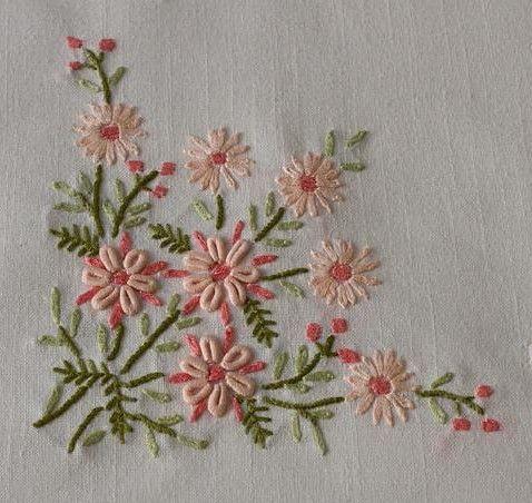 Nice Napkin Design Needle Arts Pinterest Embroidery Hand Custom Hand Stitch Embroidery Patterns