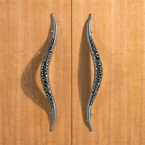 Stainless Steel Door Knobs and Pulls by Martin Pierce - new Morphic ...