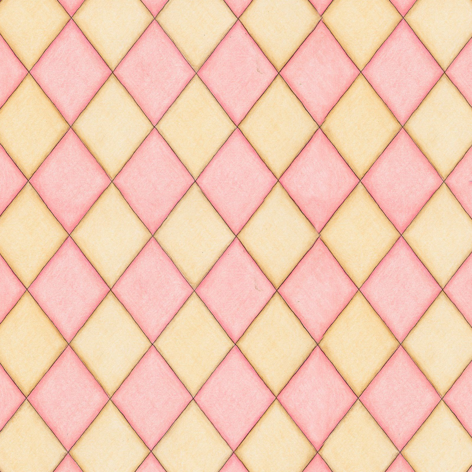 Pink Diamond Wallpaper: Pretty PATternS To Play With