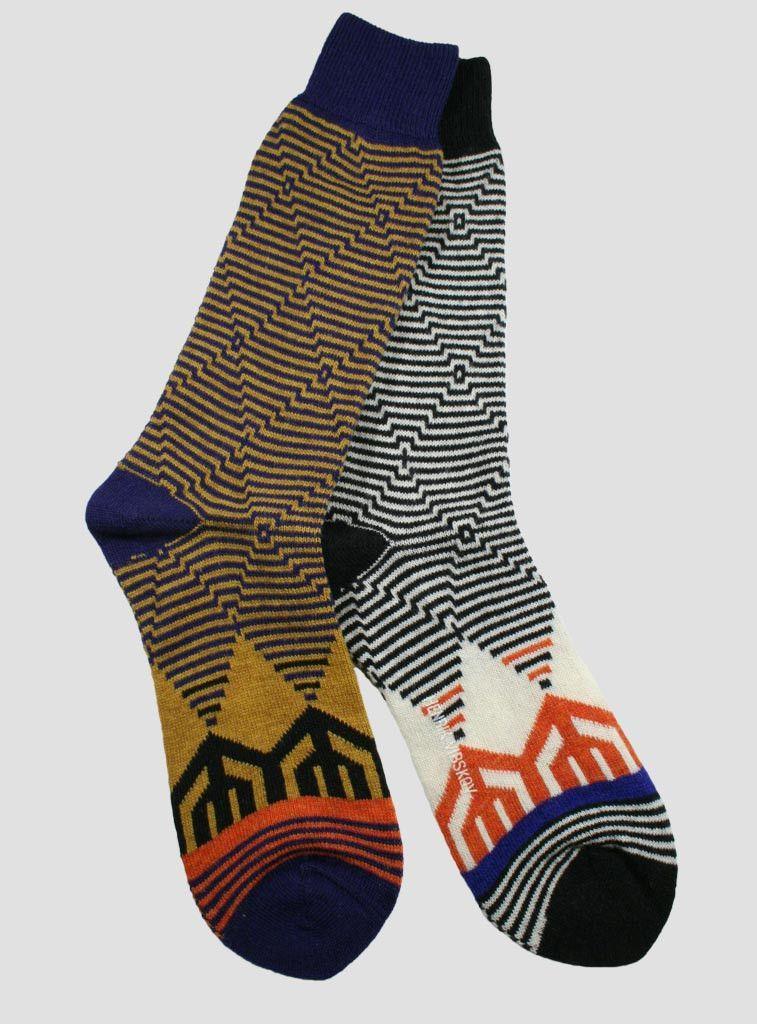 Henrik Vibskov Snow Fence Crew Sock | The Sock Hop