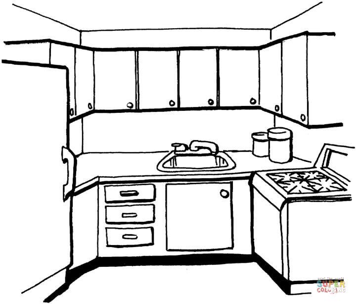 printable coloring pages kitchen - maeluke | vbs decorations