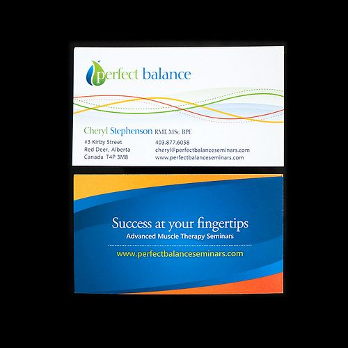 Perfect balance business card designs business cards and business perfect balance business card designs reheart Images