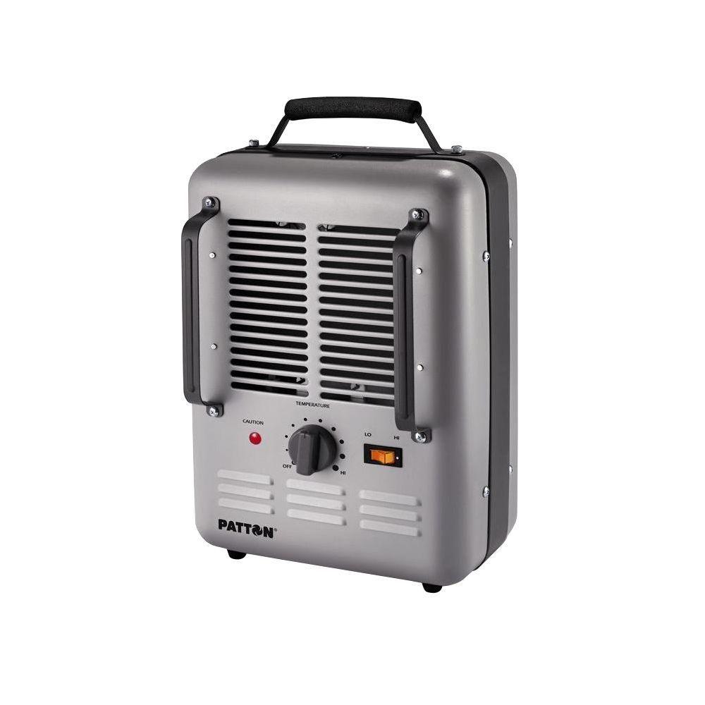 Patton 1500 Watt Utility Space Heater Puh680 U The Home Depot Space Heater Best Space Heater Heater Thermostat