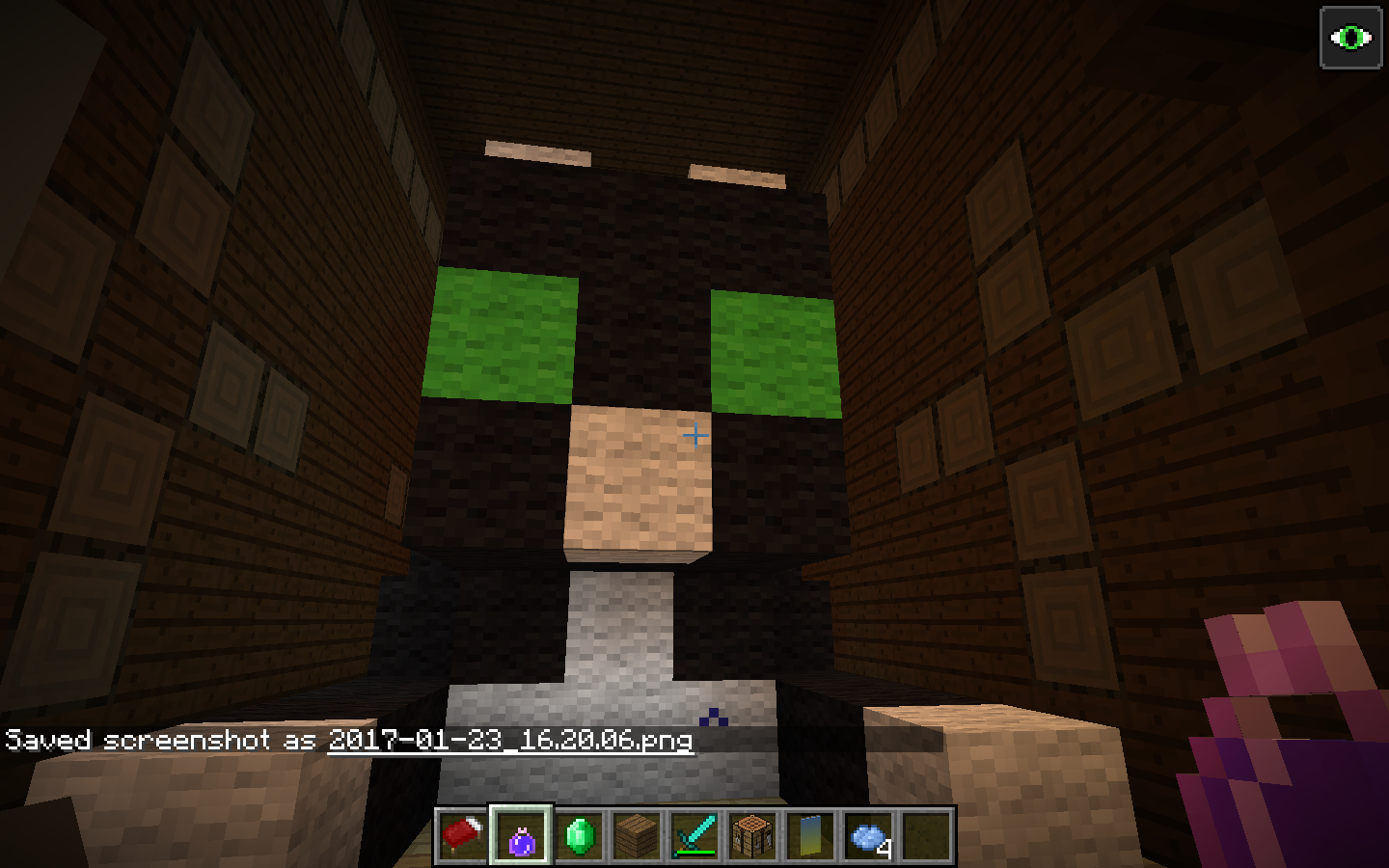 I Found A Gaint Cat In A Woodland Mansion Minecraft