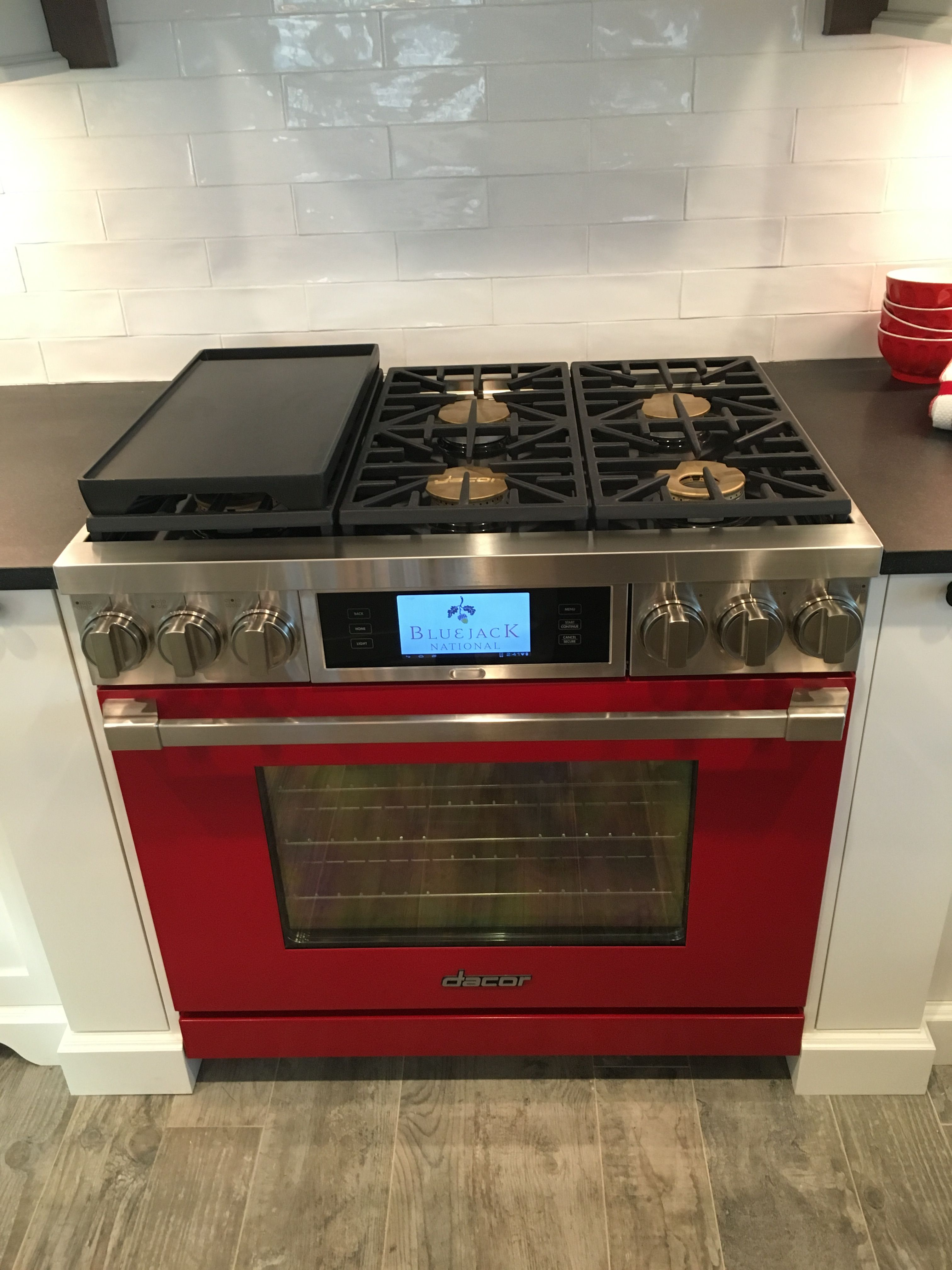 Dacor appliances featured in this project 36 inch custom colored