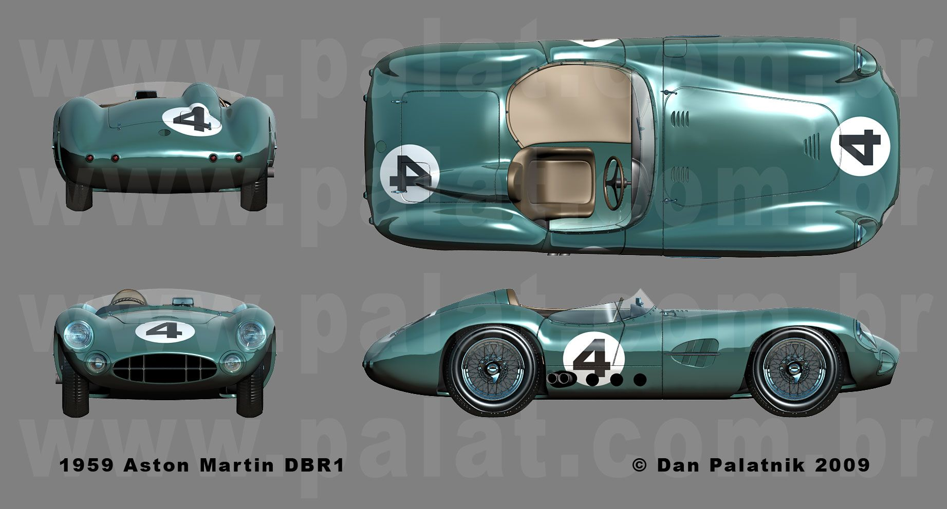 Jaguar Xj13 Blueprint Aston Martin Dbr1 1959 Smcars Net Car Blueprints Forum