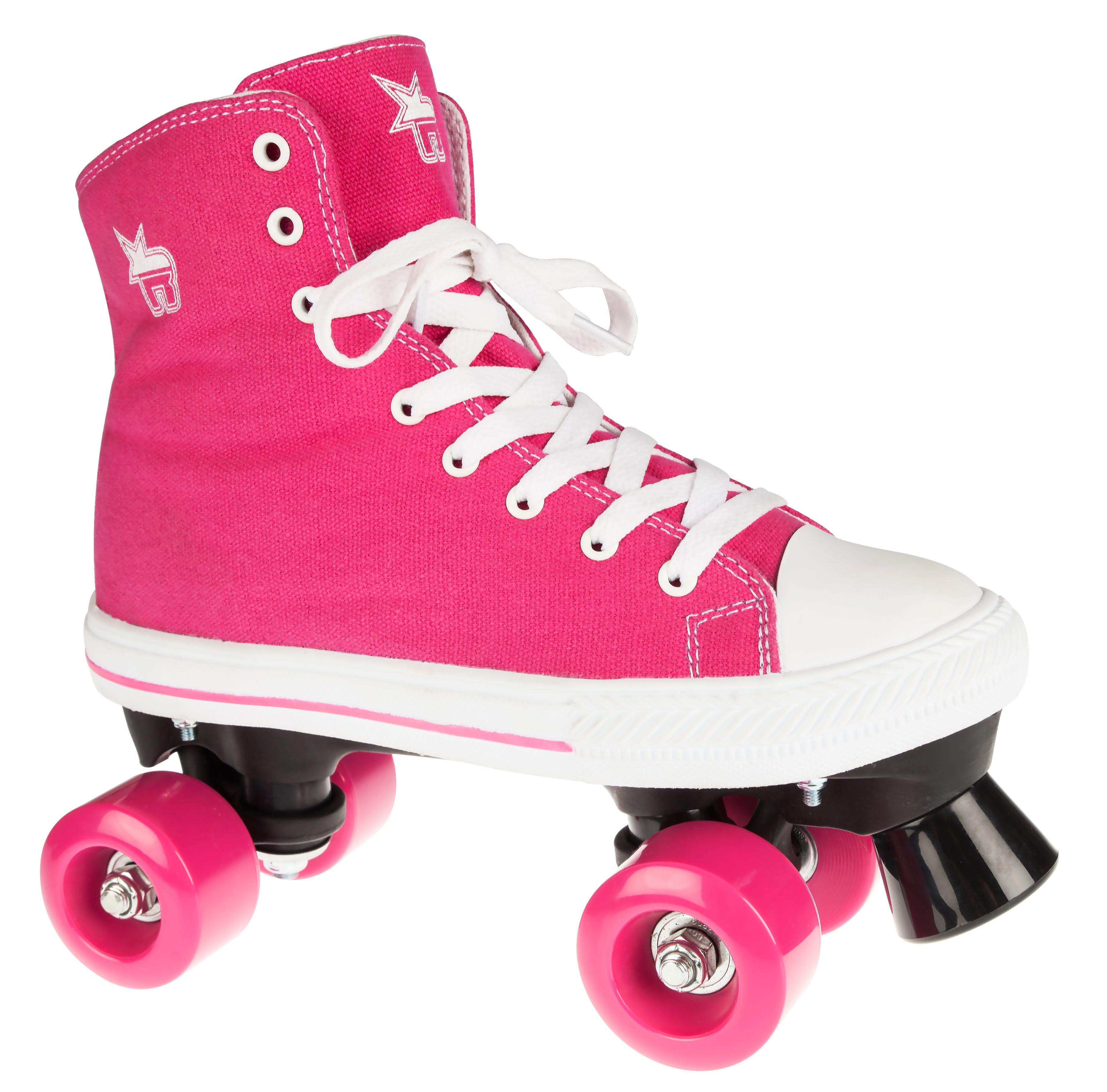 Optional Skate Bag Rookie Canvas High Quad Roller Skates Black