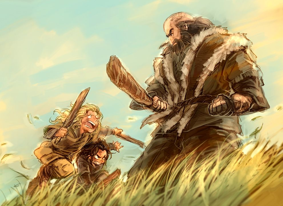 Yakisobaru--fili and kili