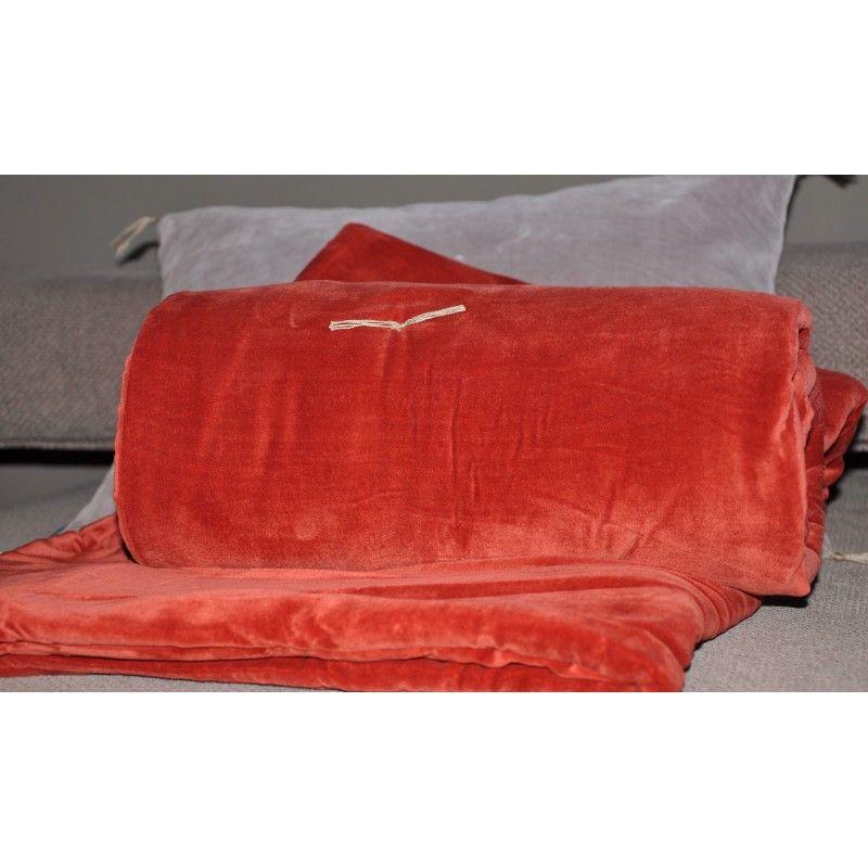 Sofa Cover Caravane Paprika