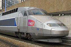 Tgv Atlantique Franzosischer Hochgeschwindigkeitszug Der 2 Generation Zug Fahren Eisenbahn Lokomotive
