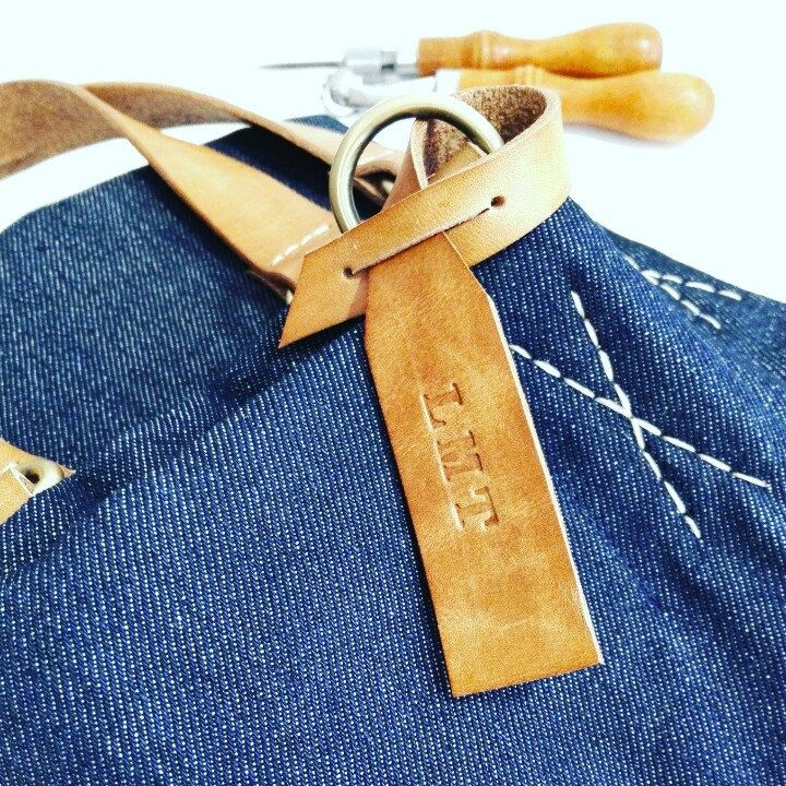 Weekend bag personalized with your initials or name! www.genuinemyself.com