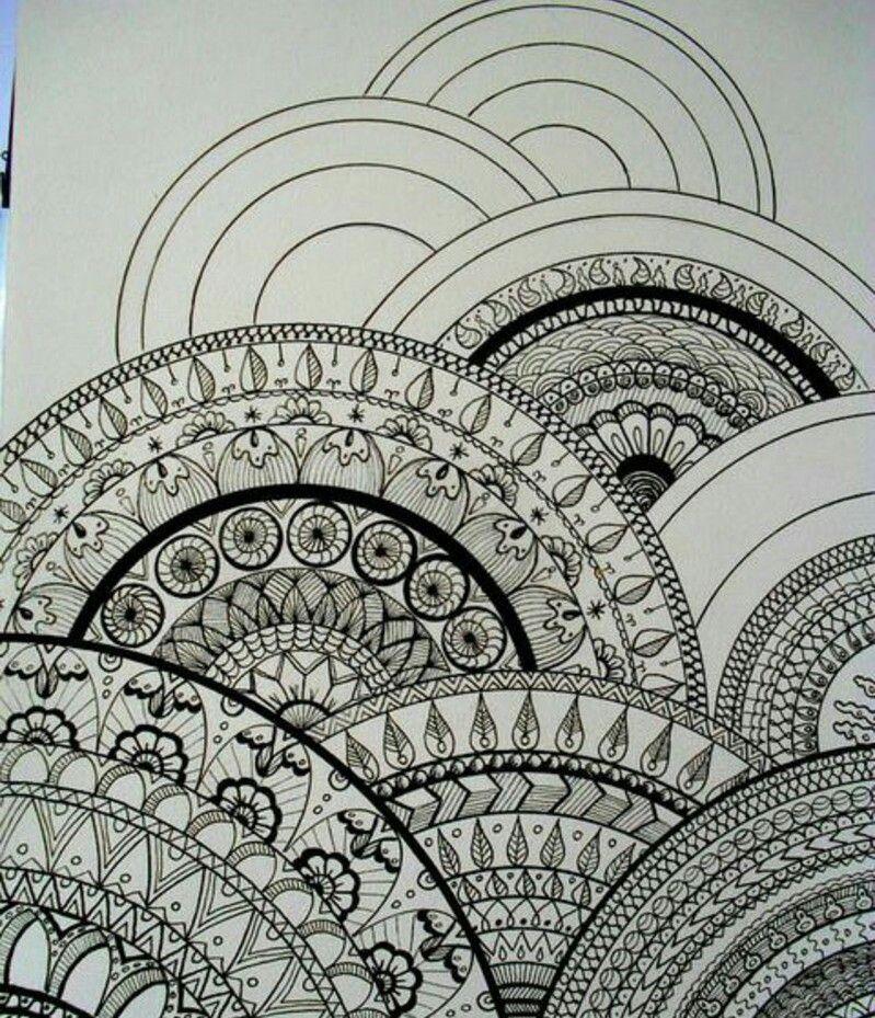 pin von sarah auf zen doodle pinterest zeichnen muster und zeichnen lernen. Black Bedroom Furniture Sets. Home Design Ideas