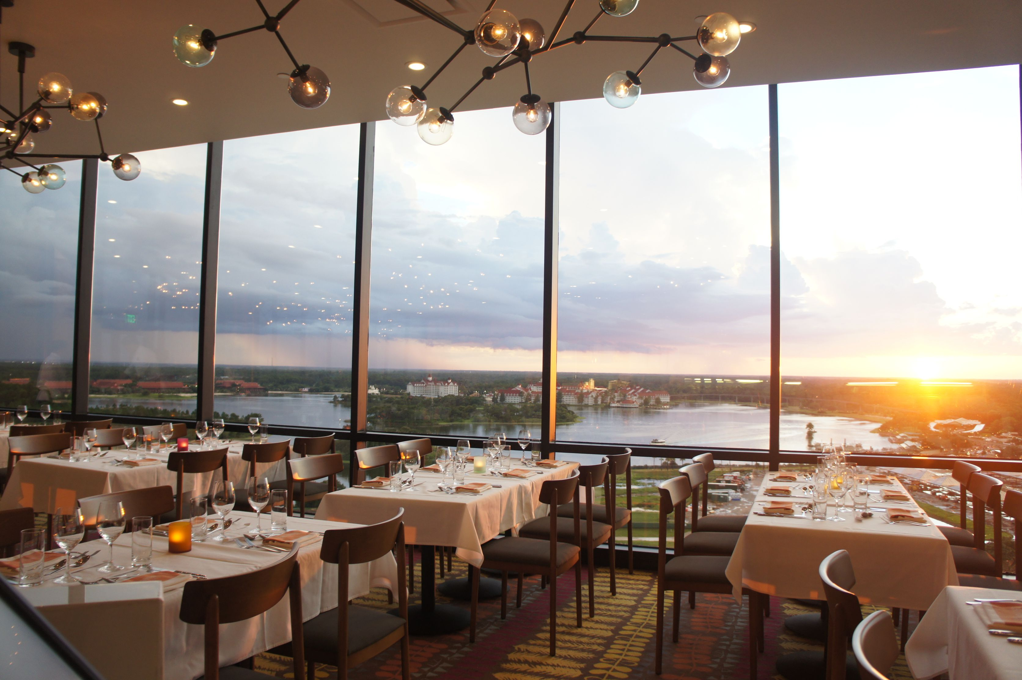 California grill watch the sunset fireworks over magic