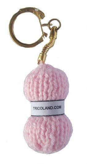porte cl pelote de laine le blog de tricoland accessoires sac pinterest crochet. Black Bedroom Furniture Sets. Home Design Ideas