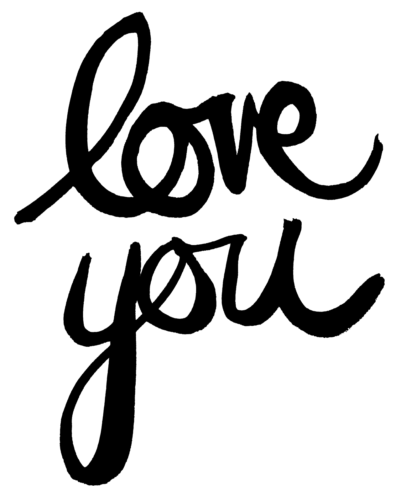 Download FREE #cutfile: love you | Tipos de letras, Imprimir sobres ...