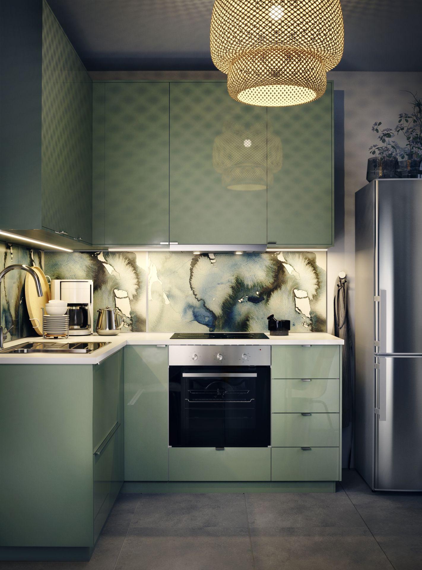 ikea deutschland bring doch ein bisschen farbe in deine metod k che mit der gr nen kallarp. Black Bedroom Furniture Sets. Home Design Ideas