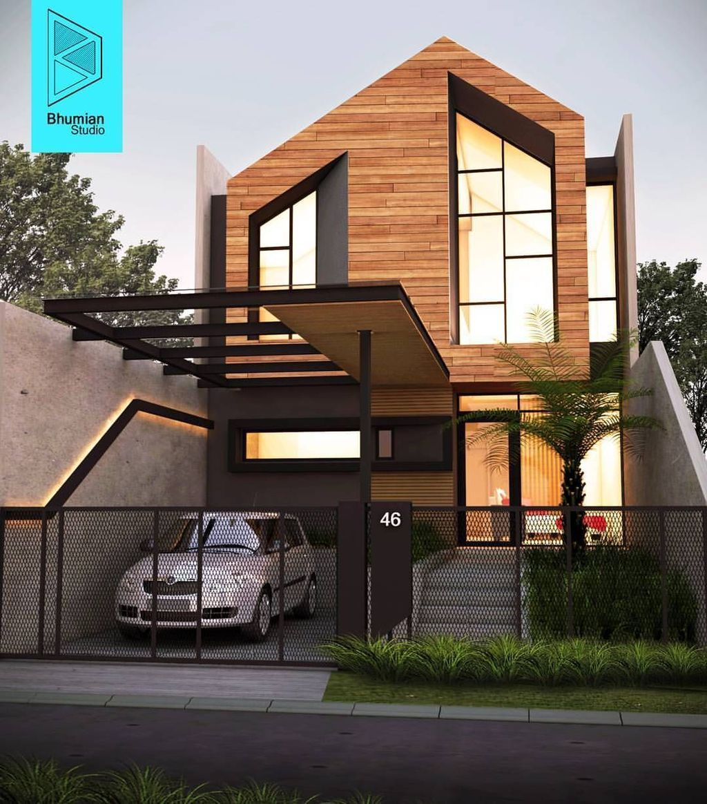 32 Stunning American House Architecture Design Ideas That Most People Look For American Architecture Design H Di 2020 Arsitektur Arsitektur Modern Desain Arsitektur