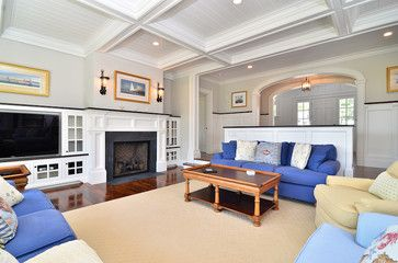 Living Room Dining Room Design Magnificent Cape Cod Fireplace Ideas  Save To Ideabook  Livingdining Room Decorating Design