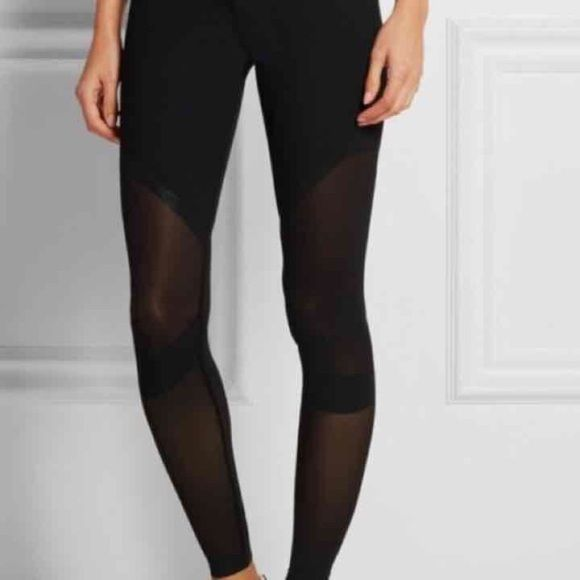Nike Dual Sculpture Tights XS Nike black dual sculpture mesh ...