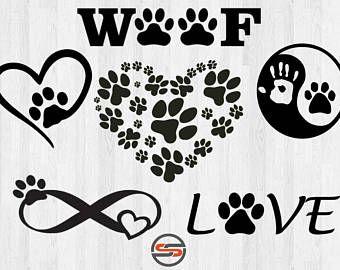 Download Dog svg   Etsy   Pet memorial tattoo, Dog tattoos, Free ...