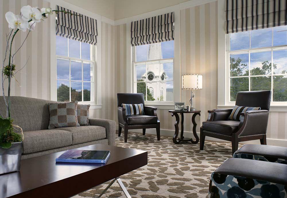 Geoffrey Bradfield Luxury Interior Design Equinox Hotel Vermont