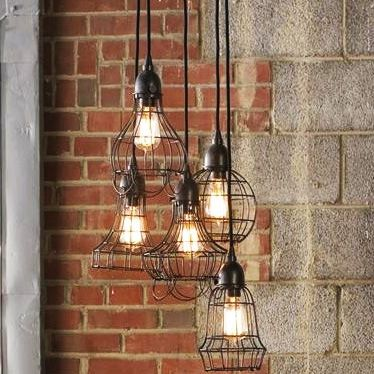 industrial style lighting - Industrial Decor