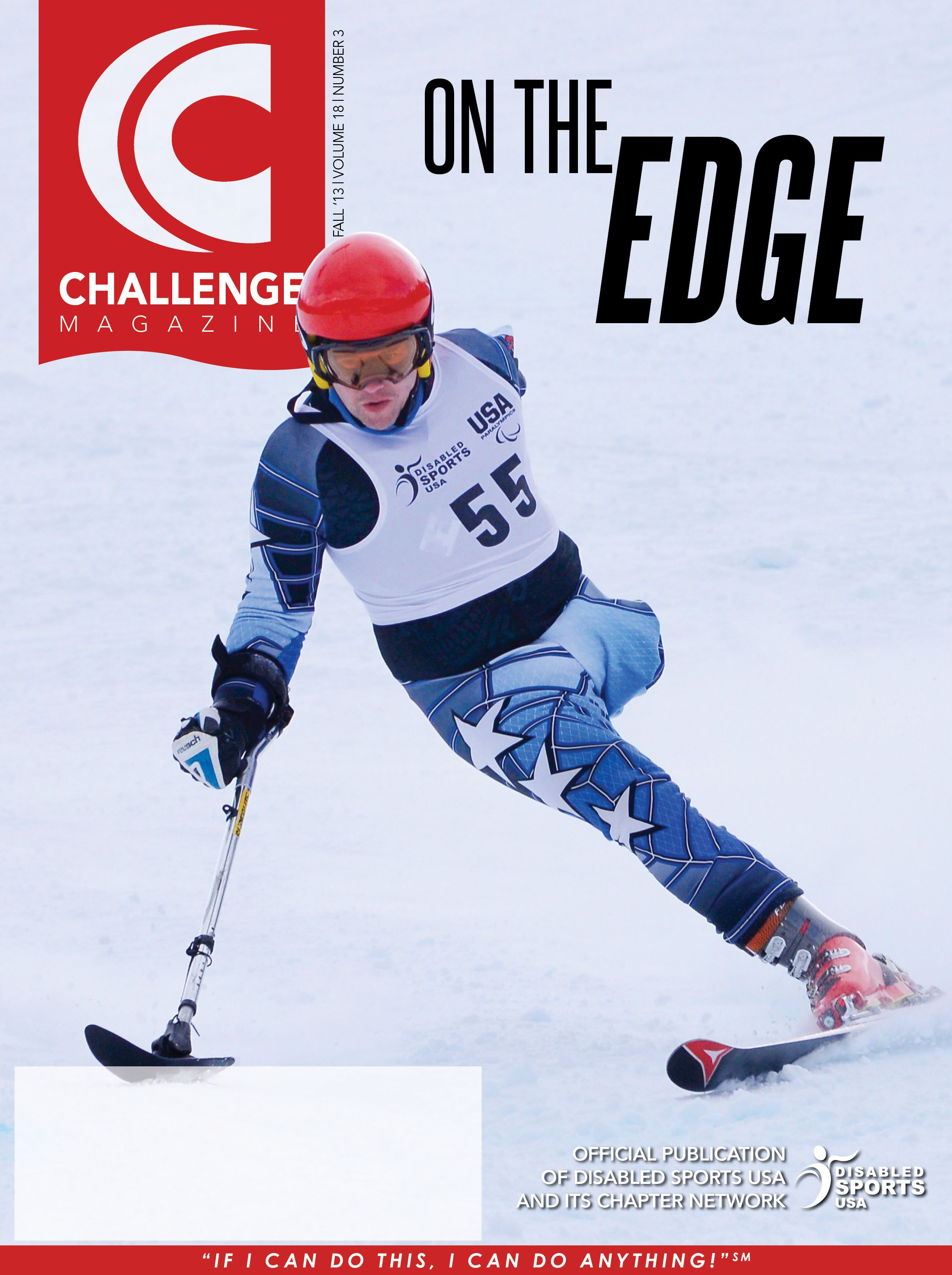 Challenge Magazine Disabled Sports Usa With Images Learning Disabilities Challenges Sports