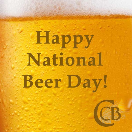 Beer It S Not Just For Breakfast Anymore Happy National Beer Day The Unofficial Holiday Marks The Cullen Harr National Beer Day Beer Day Beer Quotes