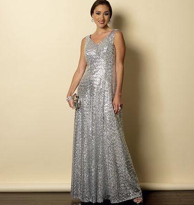 Butterick 6146 Abendkleid in Gr. Woman XXL-6X | Abendkleid, Kleid ...