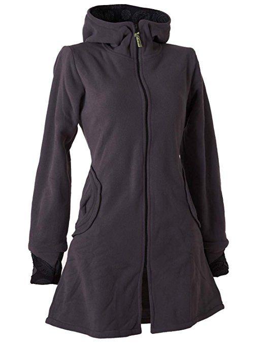 Vishes Alternative Bekleidung warmer Elfen Kurzmantel