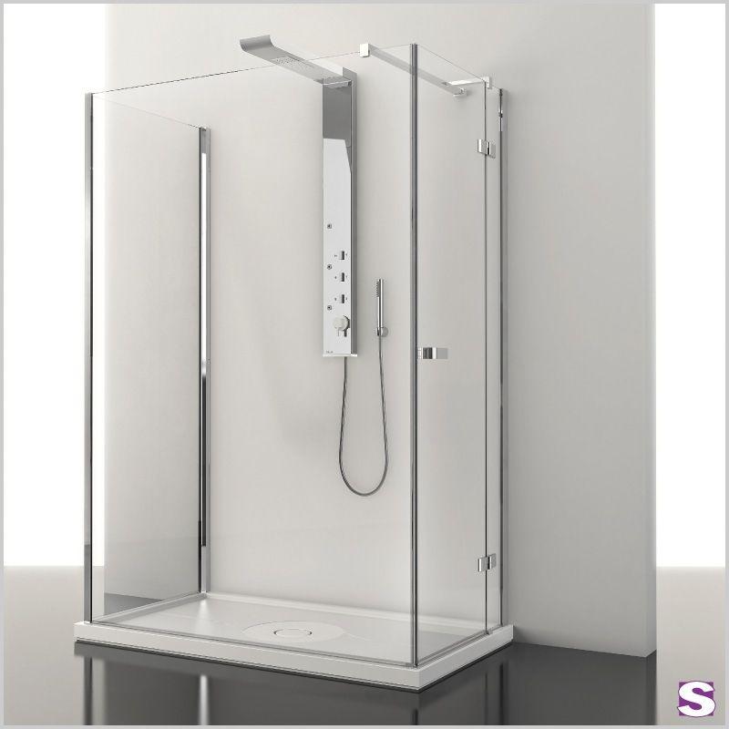 eck duschkabine lobus mit schwenkt r sebastian e k freier eintritt in den raum gebaut. Black Bedroom Furniture Sets. Home Design Ideas