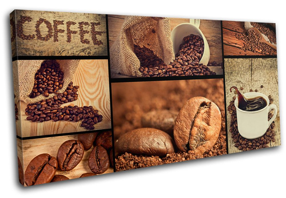 details about coffee shop food kitchen single canvas wall art picture print va wall canvas on kitchen decor paintings prints id=65826