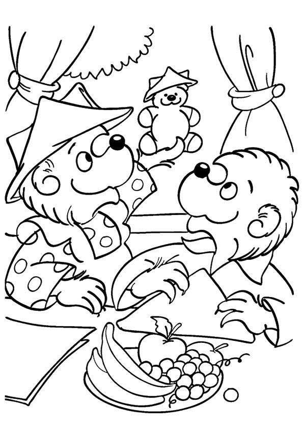 Print Coloring Image Momjunction Bear Coloring Pages Coloring Pages Shark Coloring Pages
