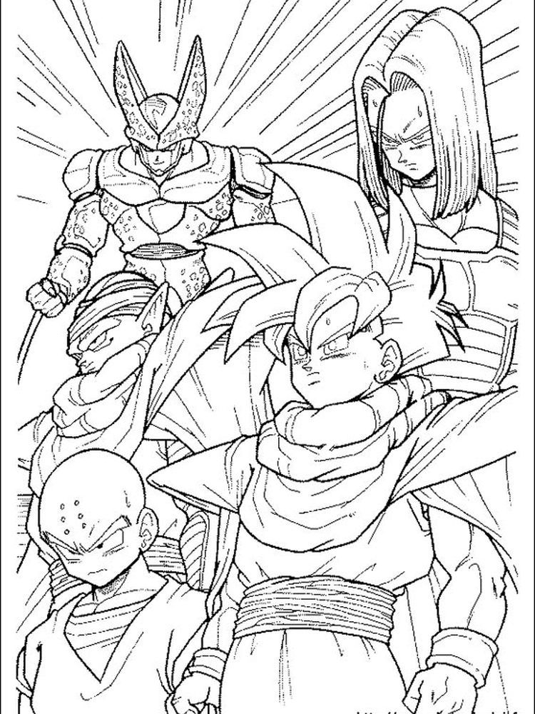 Dragon Ball Z Baby Coloring Pages The Following Is Our Dragon Ball Z Coloring Page Collection You A Dragon Ball Artwork Dragon Ball Art Dragon Ball Super Art