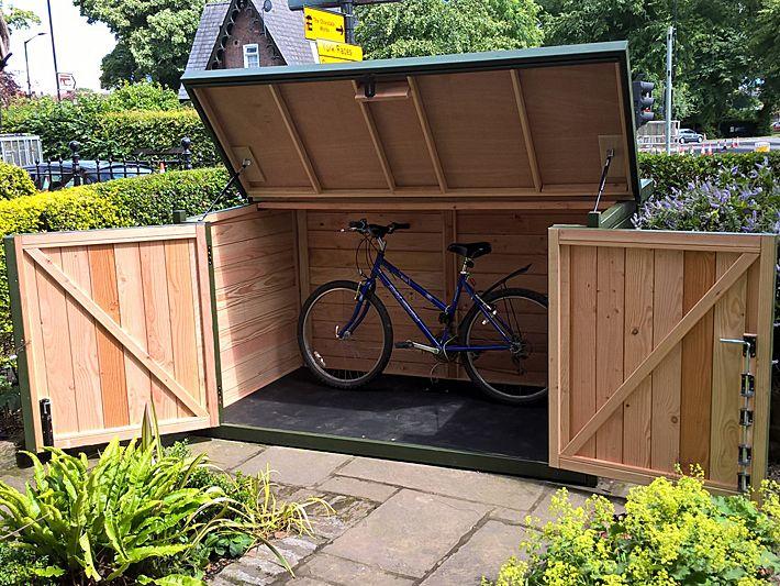 Pedalbase 5 Bike Shed Garden Storage Shed Bicycle Storage