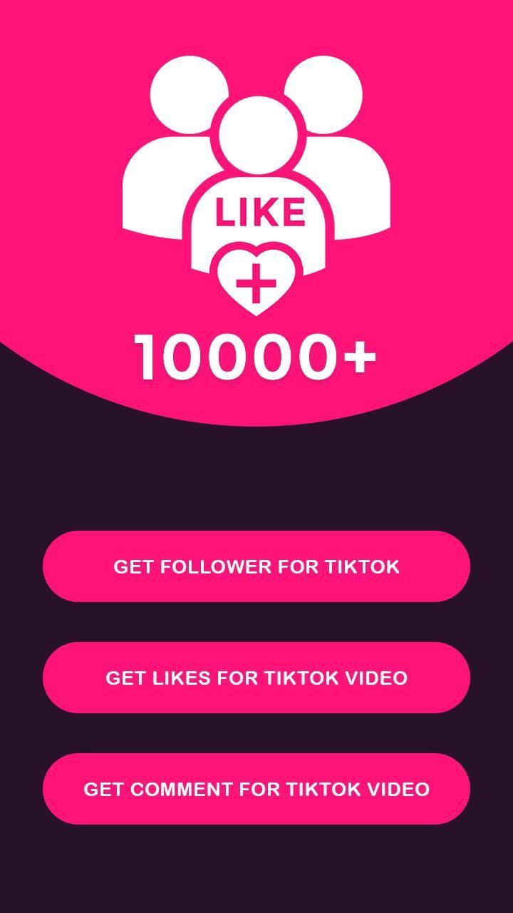 Like Free Tik Tok Generate Tik Tok Fans Free Tiktok Coins Generator No Human Verification Get F Free Followers How To Get Followers Free Followers On Instagram