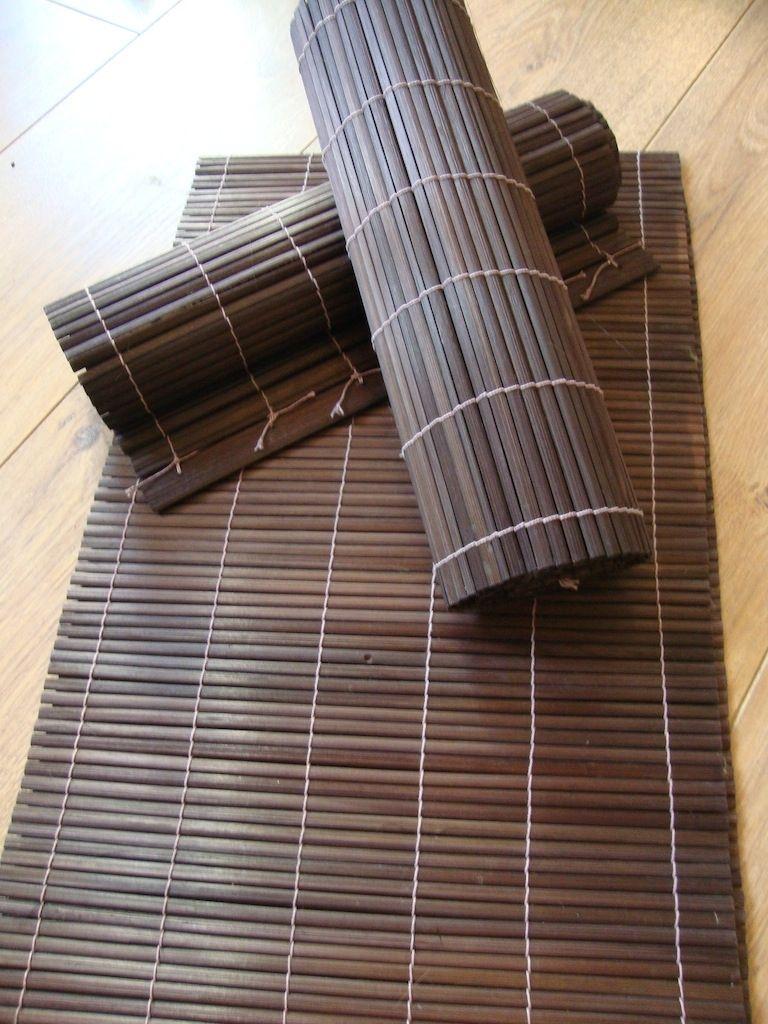 Ordinaire Natural Bamboo Table Runner